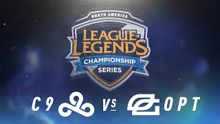 Video C9 vs. OPT - Week 3 Day 1 | NA LCS Spring Split | Cloud9 vs. OpTic Gaming (2018) MP3, 3GP, MP4, WEBM, AVI, FLV Juni 2018