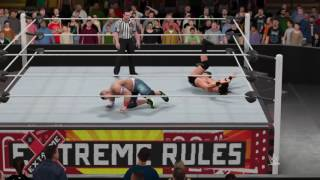 Extreme Rules: John Cena vs. Drew Mcintyre for the Impact Grand Championship