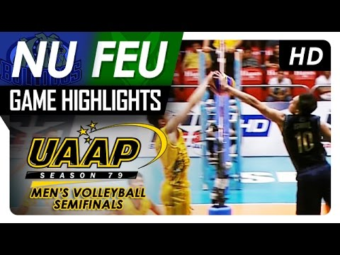 NU vs. FEU | Semifinals Game Highlights | UAAP 79 MV | April 26, 2017 (видео)