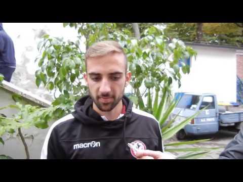 Prato-Arezzo 0-2, intervista con Enrico Bearzotti