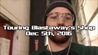 Tour Blastaway's Shop as we Paint Prep & Sandblast a Caterpillar D9L!