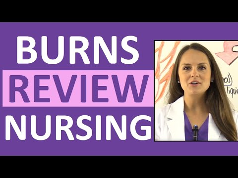 Burns Nursing Care, Treatment, Degrees, Pathophysiology,  Management, NCLEX Review