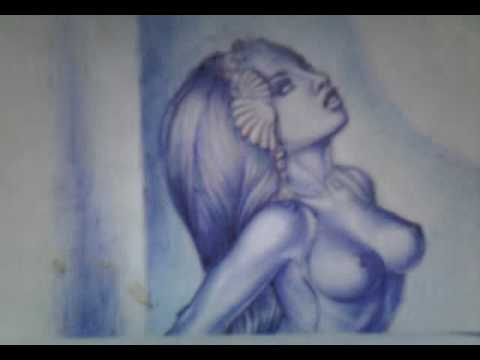 The drawings of beautiful women I've made in my lonely moments since 2000