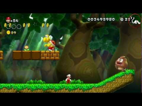 Walkthrough New Super Mario Bros U - Nintendo Wii U - Episode 9