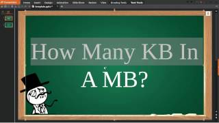 How Many Kb In A Mb