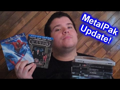 Blu-ray MetalPak Update + SIN CITY: A DAME TO KILL FOR And NINJA TURTLES Mini-Reviews