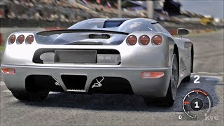 Forza Motorsport 3 - Koenigsegg CC8S 2002 - Test Drive Gameplay (HD) [1080p60FPS]------------------------------------------Game Information:Forza Motorsport 3 is a racing video game developed for Xbox 360 by Turn 10 Studios. It was released in October 2009. It is the sequel to Forza Motorsport 2 and the third installment in the Forza series. The game includes more than 400 customizable cars (more than 500 cars in the Ultimate Collection version) from 50 manufacturers and more than 100 race track variations with the ability to race up to eight cars on track at a time. These cars vary from production cars to race cars such as those from the American Le Mans Series.__________________________________________