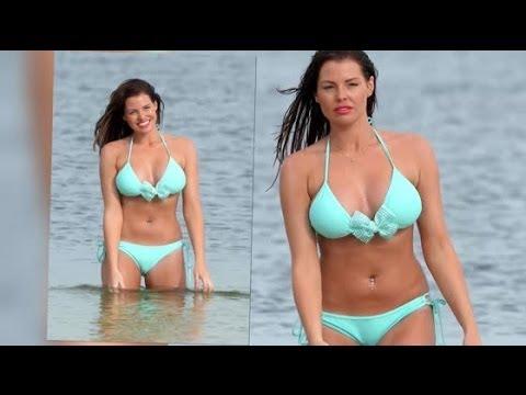 Jessica Wright Causes a Splash in a Tiny Bikini