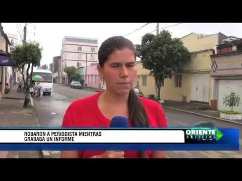 Colombia: Roban a una periodista mientras grababa un informe