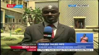 KTN NewsDesk Tuesday 25th October 2016