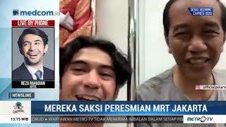 Video Ini Permintaan Reza Rahadian ke Jokowi Saat Peresmian MRT MP3, 3GP, MP4, WEBM, AVI, FLV Maret 2019
