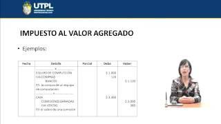 UTPL IMPUESTO AL VALOR AGREGADO [(ÁREA ADMINISTRATIVA)(CONTABILIDAD GENERAL I)]