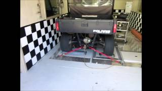 10. Polaris Ranger 500 EFI on the Superflow Dyno after fixing no spark