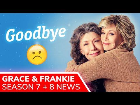 GRACE AND FRANKIE Season 8 NOT Happening, Season 7 Episodes Return in 2022 on Netflix