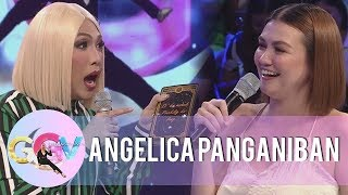 """Video Angelica Panganiban tests her luck on """"Charot Cards"""" 