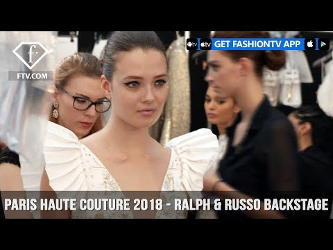 Paris Couture Fall/Winter 2017-18 - Ralph & Russo Backstage | FashionTV