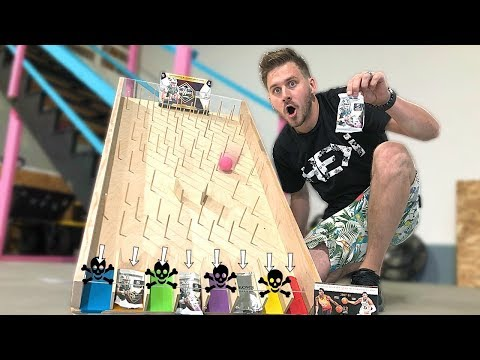 PLINKO SPORTS CARDS CHALLENGE *Don't Land on Punishments!*