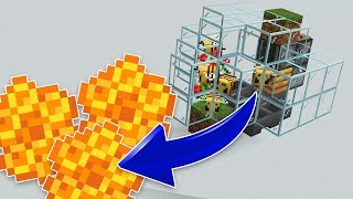 How to Build a SIMPLE Honeycomb Farm in Minecraft!