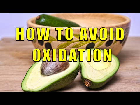 How to avoid Oxidation