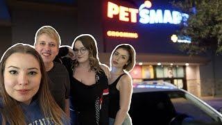PETCO + PETSMART VLOG (ft. Emma Lynne Sampson, Emilee Rose, and Taylor Nicole Dean) by Pickles12807
