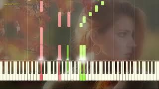 Autumn Leaves (Jazz) (Ноты и Видеоурок для фортепиано) (piano cover)