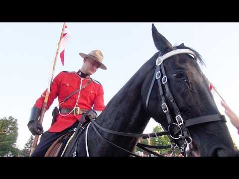 RCMP Musical Ride - in HD (Ottawa Canada)
