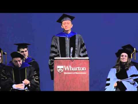 Wharton undergraduate commencement speech '14 (видео)