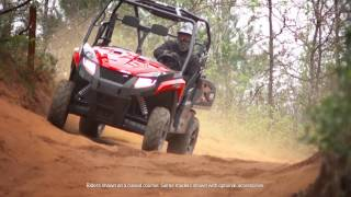 10. Arctic Cat 2016 HDX Prowler Rideability