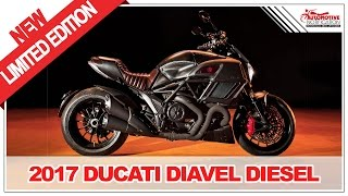 1. ONLY 666 MODELS!! 2017 Ducati Diavel Diesel Limited Edition