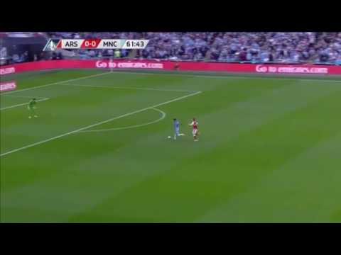 Arsenal 2-1 Man City FA Cup Semi-Final Highlights 2017