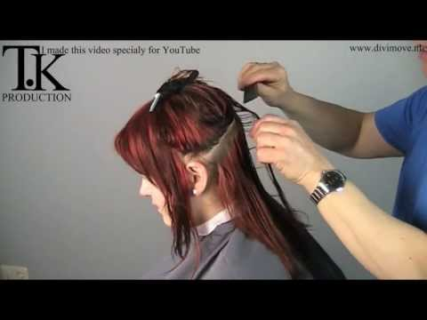 hairdresser - Hold the horses! I cut my hair!!! Make-over of Rosan by Theo Knoop my precious little hair that is what she find herself of this haircut/color This is the fi...