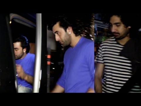 Ranbir Kapoor & Ayan Mukherjee Spotted At Yauatcha Mumbai