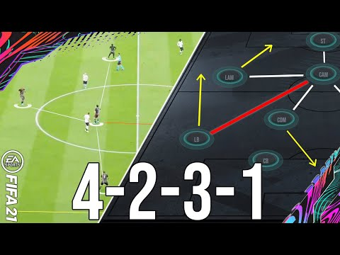 Why 4231 is the most META formation to give you wins (TACTICS) - FIFA 21 Ultimate Team