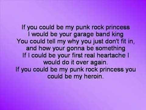 Punk Rock Princess (with lyrics)