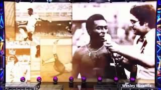 Em comemoração ao dia do futebol, que será comemorado no dia 19, próxima quarta, o santista Faustão homenageia Edson Arantes do Nascimento o Pelé em seu programa.Destaque para as citações de dois assophistas fundadores, Odir Cunha e Guilherme Guarche