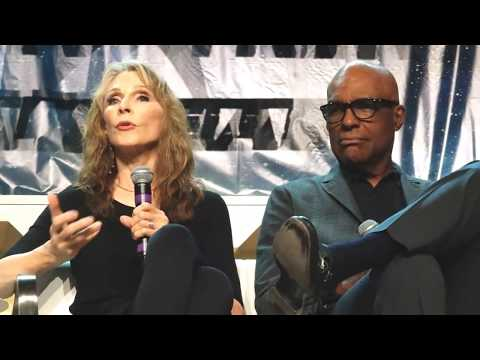 Michael Dorn, Gates McFadden and Denise Crosby at STLV - 8-3-18