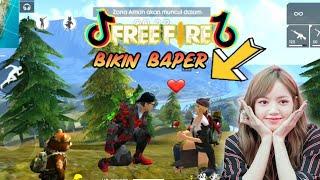 Tik tok ff Free Fire Romantis!! (Bikin Baper) Part 38