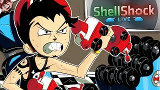GYM BATTLE BUDDIES! | Derp Fitness Failure! (Shellshock Live w/ Friends)