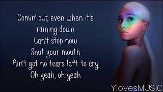 Video Ariana Grande - No Tears Left To Cry (Lyrics) MP3, 3GP, MP4, WEBM, AVI, FLV Mei 2018