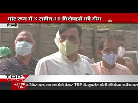 दिल्ली-ग्रीन वॉर रूम से प्रदूषण की मॉनिटरिंग