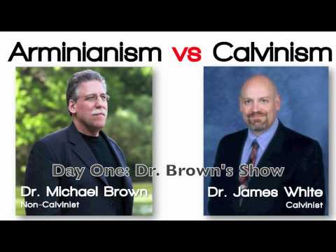 arminianism - Dr. Michael Brown from http://www.lineoffireradio.com/ hosts Dr. James White from http://aomin.org/ to discuss Calvinism and non-Calvinism (Arminianism). The...