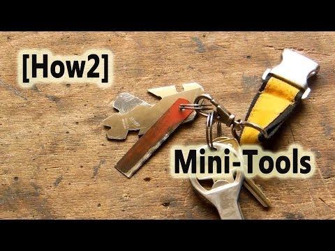 [How2] Mini Tools für den Schlüsselbund