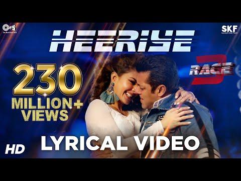 Heeriye Song with Lyrics - Race 3 | Salman Khan &