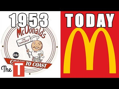 15 Famous Logos That Looked VERY DIFFERENT Back Then