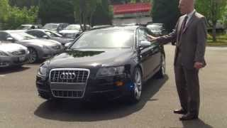 2008 Audi S6 Quattro Review + Start Up - Funny Car Salesman, Worth Watching