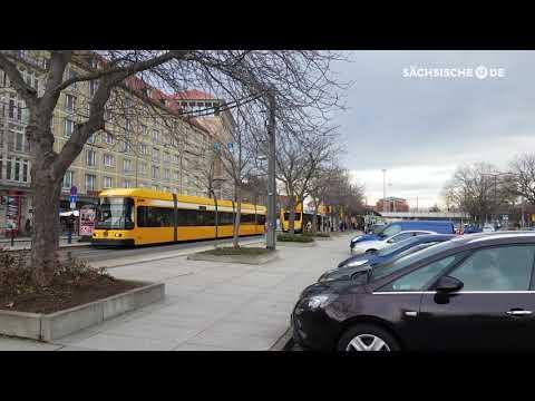 Dresdner Altstadt-Promenade: Ein grüner Promenadenrin ...