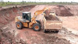 Video Excavacion con Pala cargadora case 821C MP3, 3GP, MP4, WEBM, AVI, FLV Februari 2019