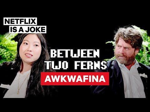 Awkwafina: Between Two Ferns with Zach Galifianakis | Netflix Is A Joke