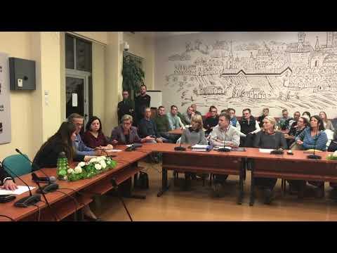 Wideo1: Spotkanie w sprawie masztu na Gronowie (fragment)