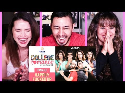 The Timeliners | COLLEGE ROMANCE | Episode 5 (FINALE) Reaction!